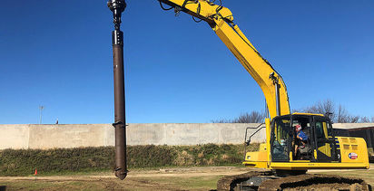 An alternative use for Chance Foundation Solutions' helical piles