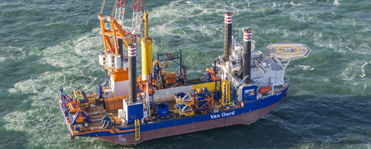 Borssele III & IV foundations in place thanks to Van Oord