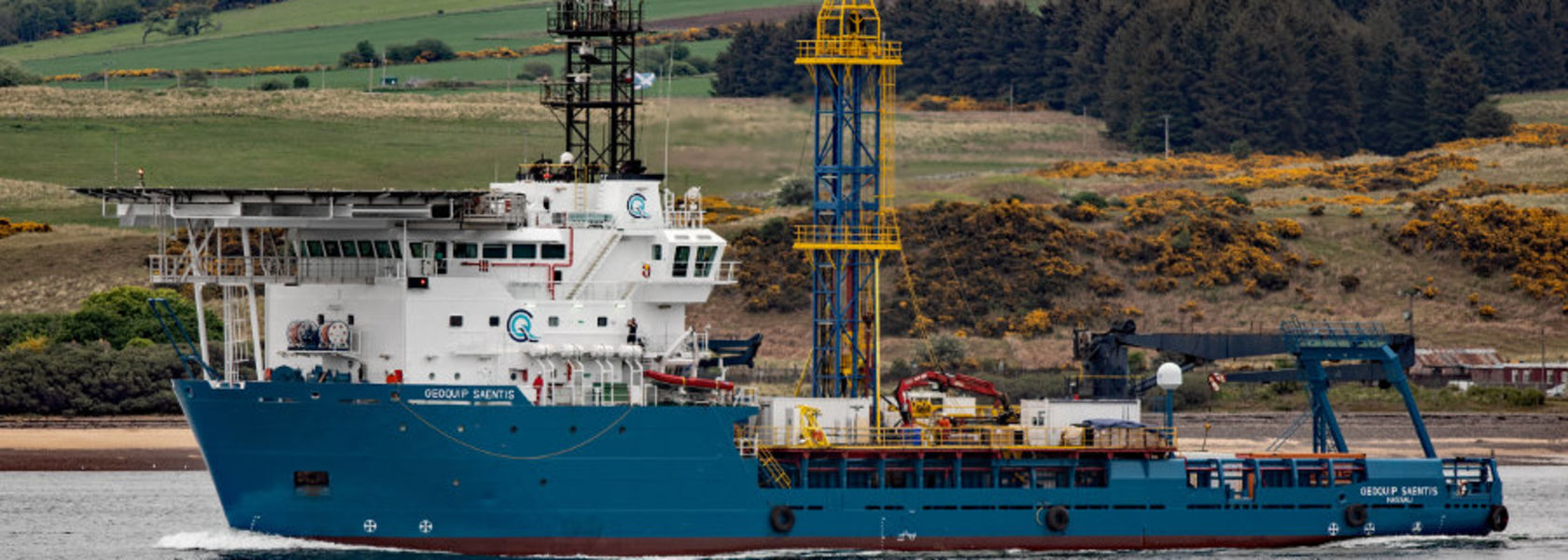 Geoquip Saentis sails for maiden job