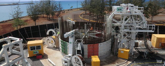 The role of mechanised shaft sinking in international tunnelling projects