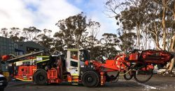 New Sandvik cable bolter debuts at Australian mine