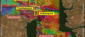 Field work starts on Farabakoura Trend in preparation for new drilling programme
