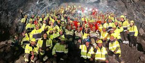 NCC celebrates breakthrough on Faroe Islands tunnel project
