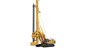 XCMG E-series rotary drilling rigs deliver in extremely challenging projects