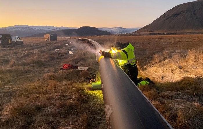 Icelandic 20km geothermal pipeline construction begins