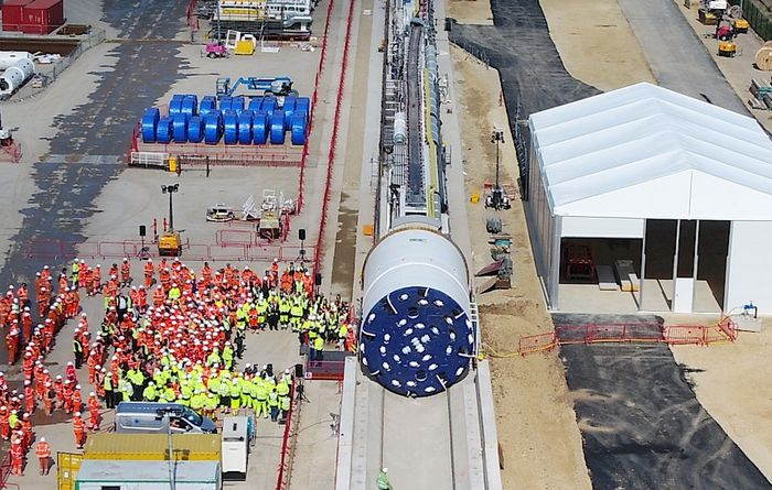 Sirius Minerals launches first tunnel boring machine