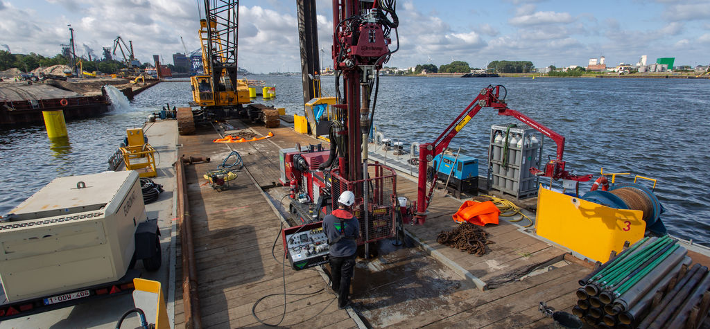 A look at how sonic drilling can be used for core sampling projects