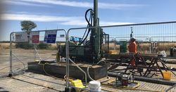 Ground investigation on one of the UK biggest infrastructure projects