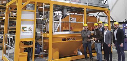 Bauer hands over its 1,000th desanding plant