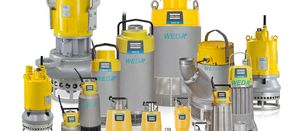 WEDA submersible dewatering pumps from Atlas Copco