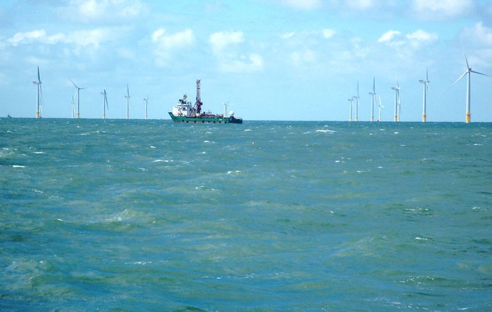 Fugro undertakes site investigation at offshore wind farm