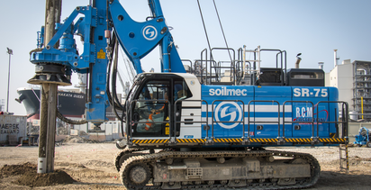 Soilmec debuts Blue Tech line with the launch of the SR-75