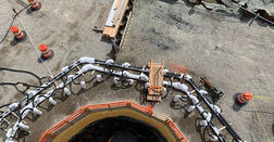 Ground freezing for major NY tunnel project