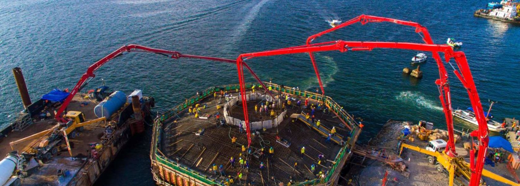 Piling work completed at Filipino bridge project